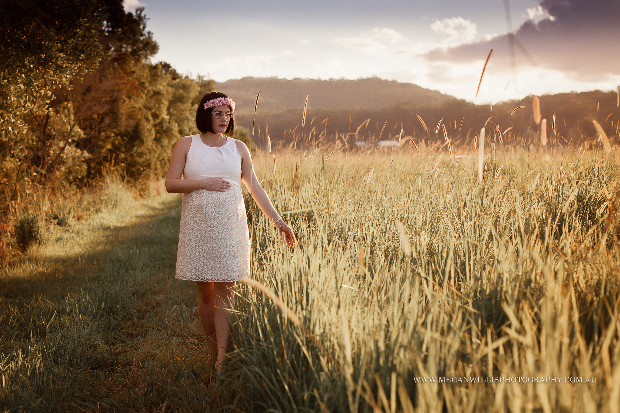 Amy // 35 weeks // July 2015 maternity session