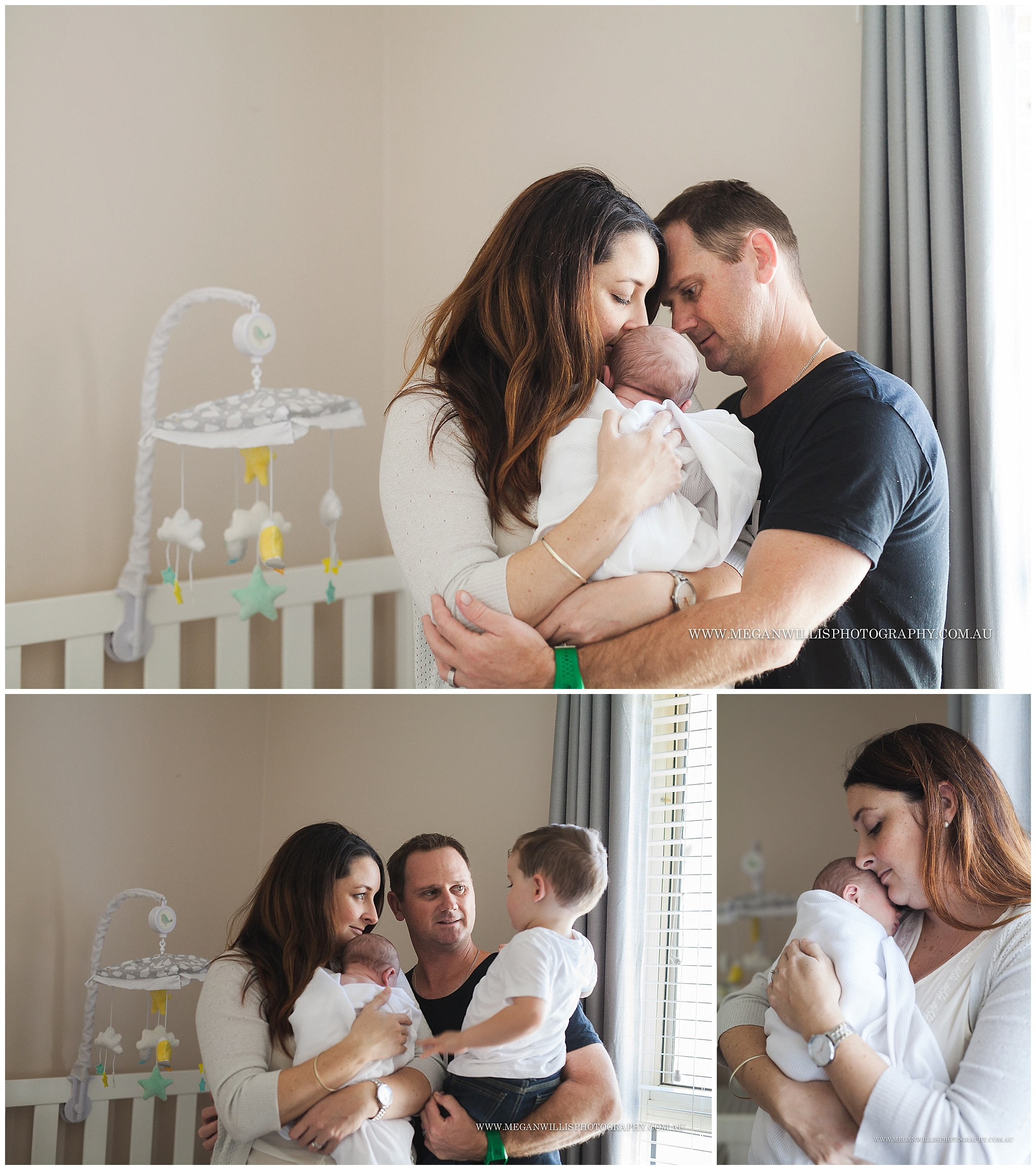 Max // 9 days // Lifestyle Newborn Session