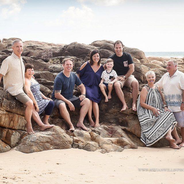 Muir Pedder Family – extended family session // December 2016