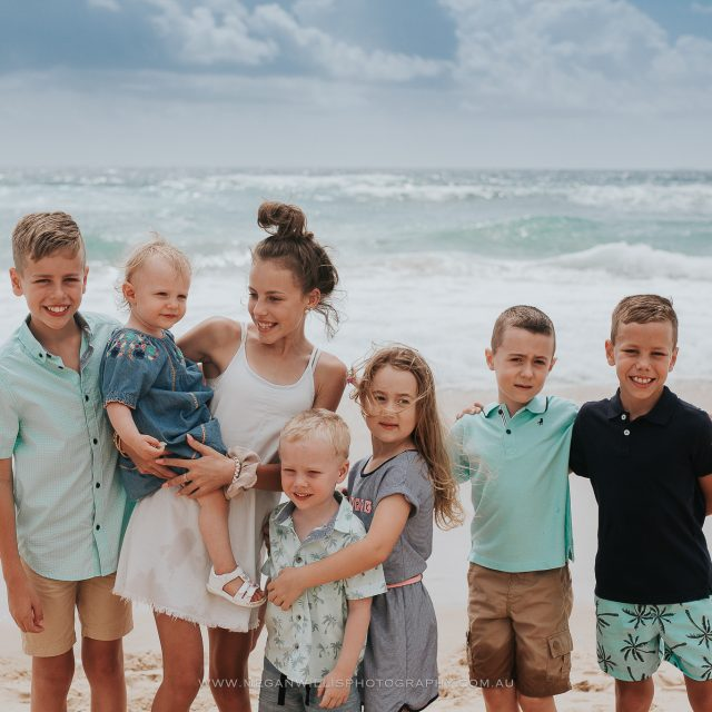 Van Dongen Family // January 2019 // Beach
